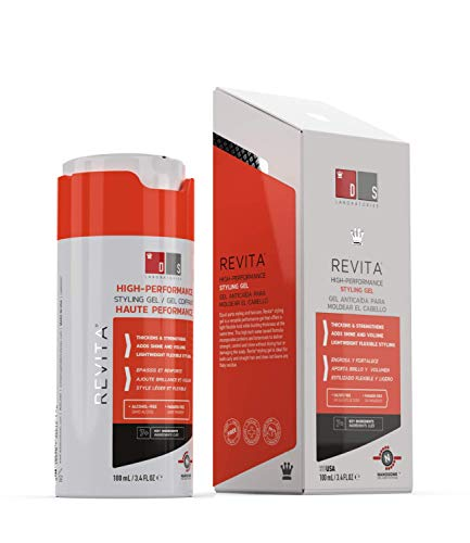 Revita Styling Gel for Hair - Gentle on Scalp and...