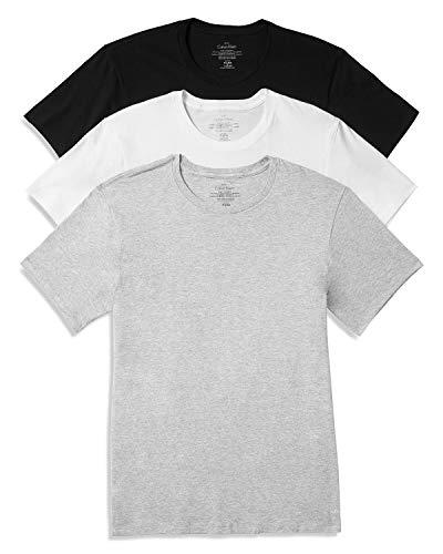 Calvin Klein Men's Crew Neck Tee 3-Pack-Assorted -...