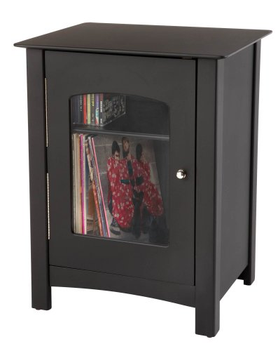 Crosley Bardstown Entertainment Cabinet, Black