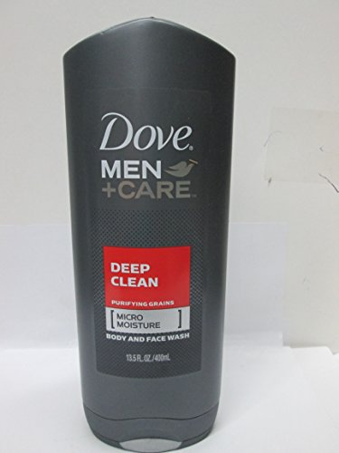 Dove Men Plus Care Deep Clean Body Wash & Face...
