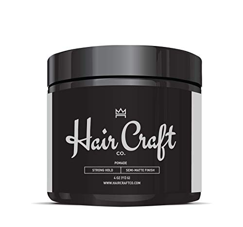 Hair Craft Co. Pomade 4oz - Best Semi-Matte Finish...