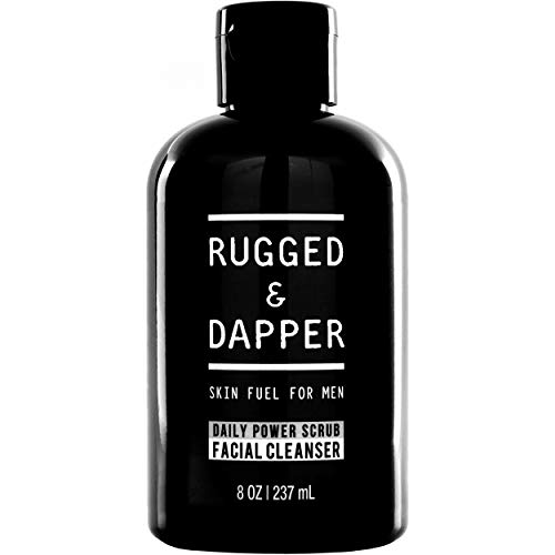 RUGGED & DAPPER Daily Face Wash and Scrub Cleanser...