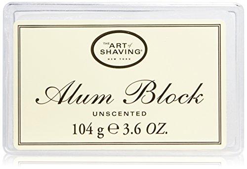The Art of Shaving Alum Block, Unscented, 3.6 oz