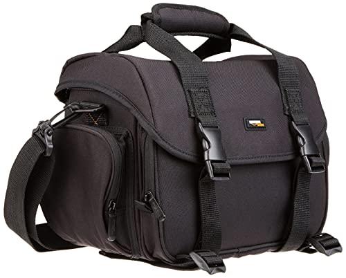 Amazon Basics Large DSLR Gadget Bag (Orange...
