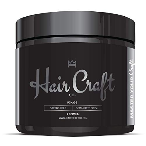 Hair Craft Co. Pomade 4oz - Best Semi-Matte Finish...
