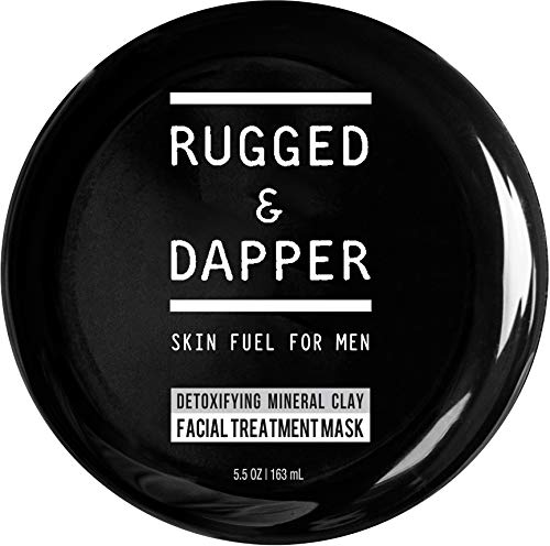 RUGGED & DAPPER Detox Mineral Clay Facial Mask |...