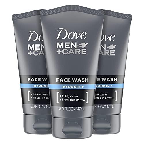 Dove Men+ Face Wash Hydrate Plus Skin Care, 5 Oz,...
