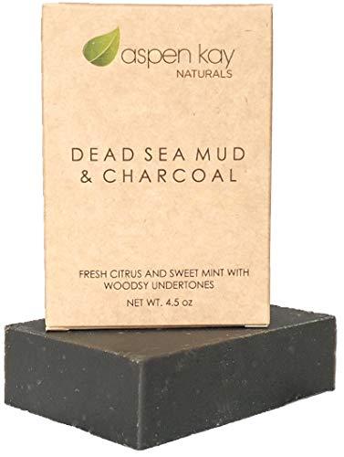 Dead Sea Mud Soap Bar Natural & Organic...
