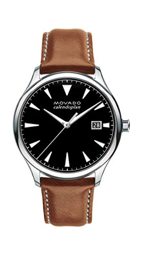Movado Men's Heritage Stainless Steel Watch with a...