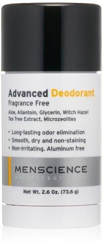 MenScience Androceuticals Advanced Deodorant, 2.6...