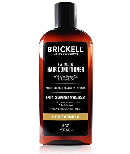 Brickell Men's Revitalizing Hair Conditioner for...