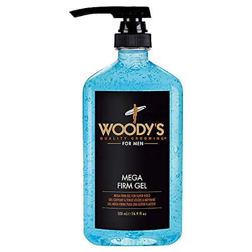Woody's Mega Firm Gel for Men, Dries Firm w/...