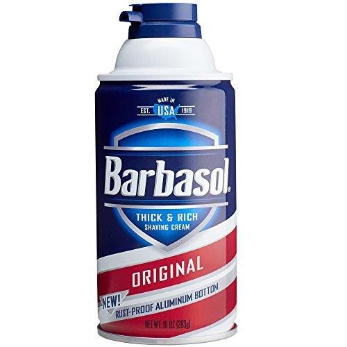 Barbasol Shave Cream, Original - 10 oz - 2 pk