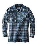 Pendleton Men's Big & Tall Long Sleeve Board Shirt, Blue/Green Original Surf Plaid-30789, XL-TALL