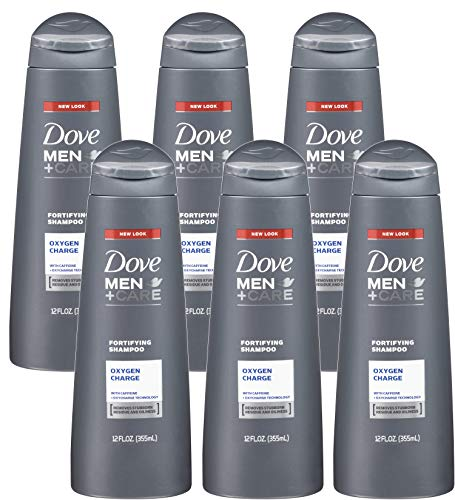 Dove Men + Care Fortifying Shampoo, Oxygen Charge,...