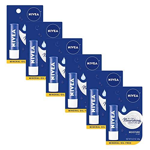NIVEA Moisture Lip Care - Unisex Intensively...