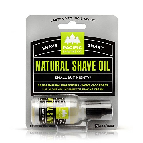 Pacific Shaving Company Natural Shaving Oil -...