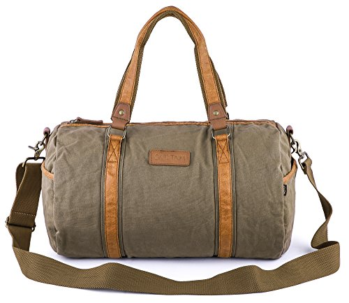 Gootium Duffle Bag - Canvas Travel Duffel...