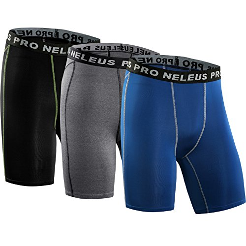 Neleus Men's 3 Pack Compression...