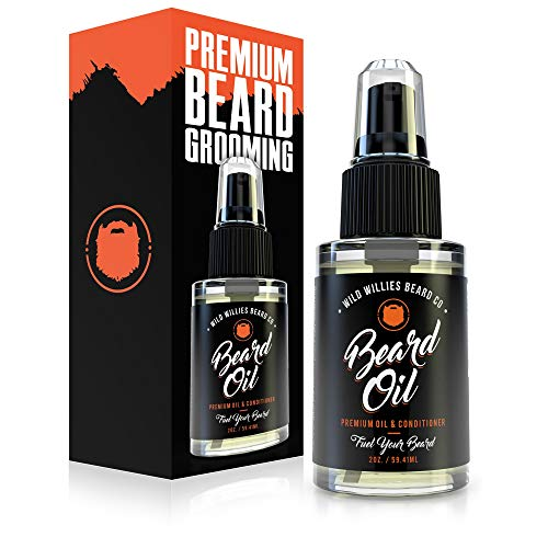 Wild Willies Beard Oil for Men. Made with 10...