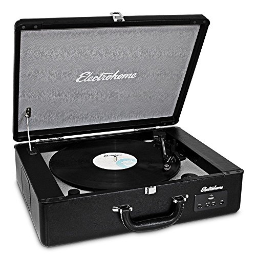 Electrohome Archer Vinyl Record Player Classic...