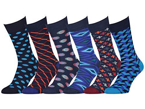 Easton Marlowe Mens Dress Socks - Cool Colorful...