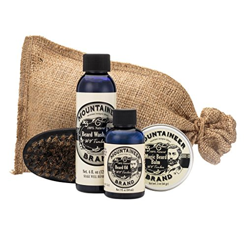 Beard Grooming Care Kit for Men by Mountaineer...