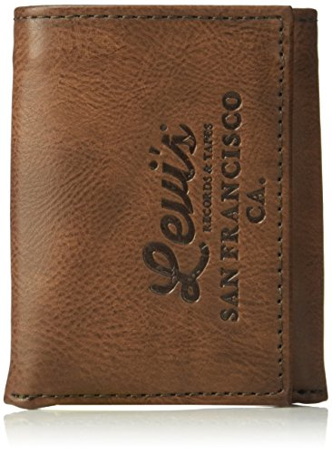 Levi's Men's Genuine Leather Trifold - Big Skinny...