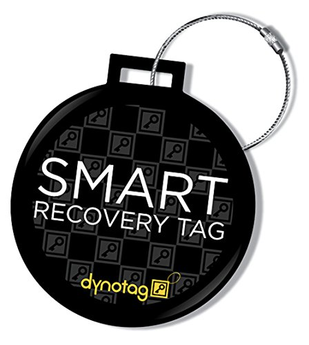 Dynotag Web Enabled Smart Dlx.Steel Luggage ID...
