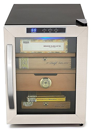 Whynter CHC-120S Stainless Steel 250-Cigar Cooler,...