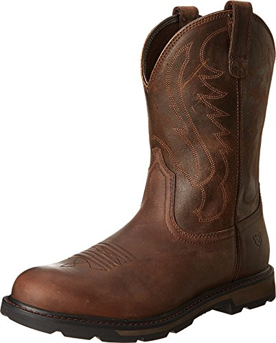 Ariat Men's Groundbreaker Pull-On Work Boot,...