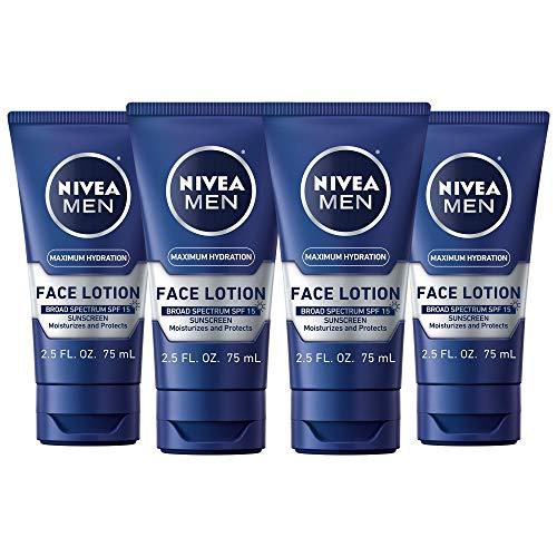 NIVEA Men Maximum Hydration Protective Face Lotion...