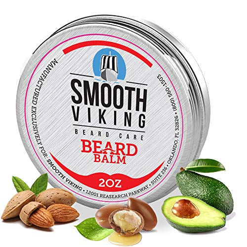 Smooth Viking Beard Balm For Men - Natural...