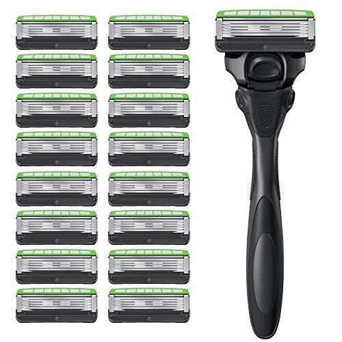 Schick Hydro Skin Comfort Sensitive 5 Blade Razor...