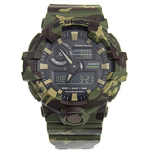 Casio G-Shock  Men's GA700CM-3A Green/Camo One...