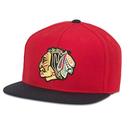 AMERICAN NEEDLE 400 Series NHL Team Hat,Chicago...