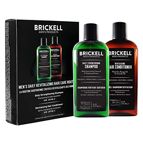 Brickell Men's Daily Revitalizing Hair Care...