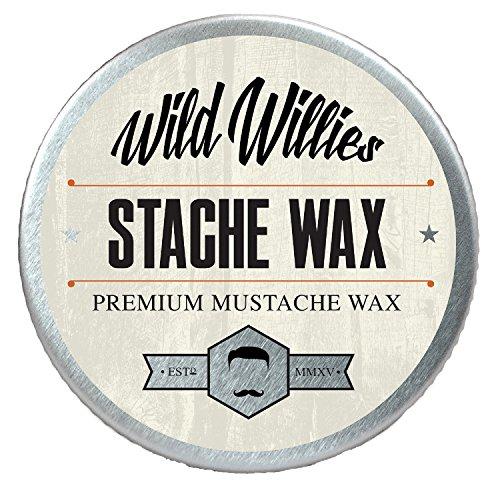 Wild Willie's Mustache Wax Original - The Only...