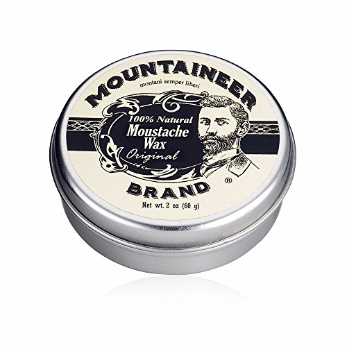 Mustache Wax by Mountaineer Brand (2oz) |...