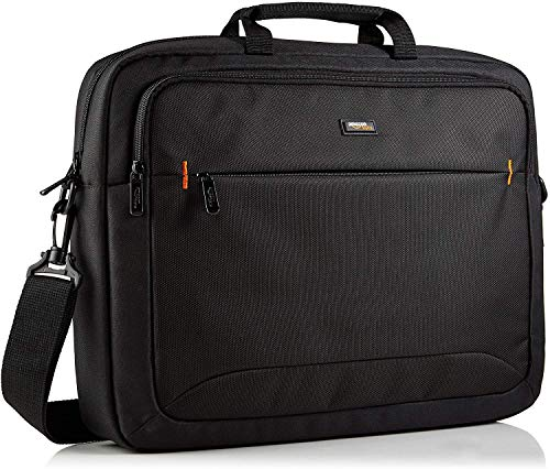 AmazonBasics 17.3-Inch HP Laptop Case Bag, Black,...