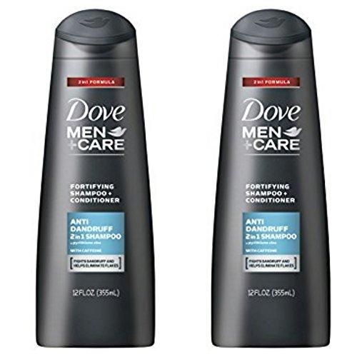 Dove Men 2 in 1 Antidandruff Shampoo, 12 Oz Pack...