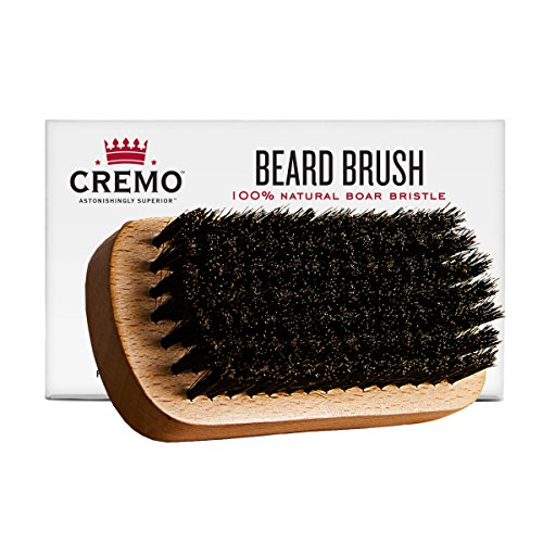 Cremo 100% Boar Bristle Beard Brush With Wood...