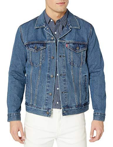 Levi's Men's The Trucker Jacket, Medium Stonewash,...