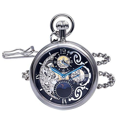 Mechanical Pocket Watch Regent Hills Brass Case...