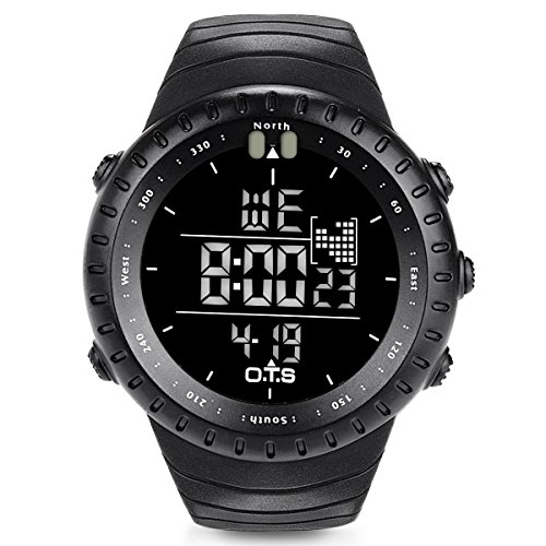 O.T.S Men's Sports Digital Watch Outdoor...