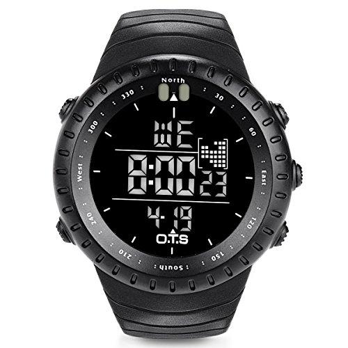 O.T.S Men's Sports Digital Watch Outdoor...