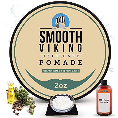 Hair Pomade for Men | Smooth Viking Pomade for Men...