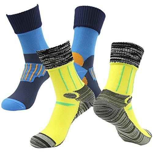 RANDY SUN Mens' Performance Cushion Crew Socks...