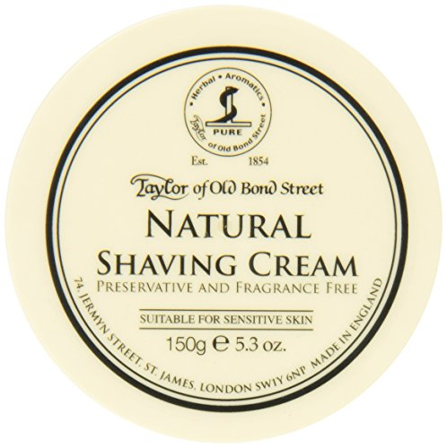 Taylor of Old Bond Street Natural Shaving Cream...