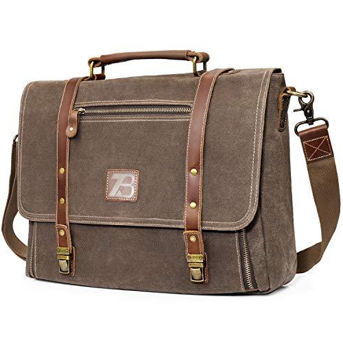 Manificent Laptop Messenger bag for Mens 15.6...
